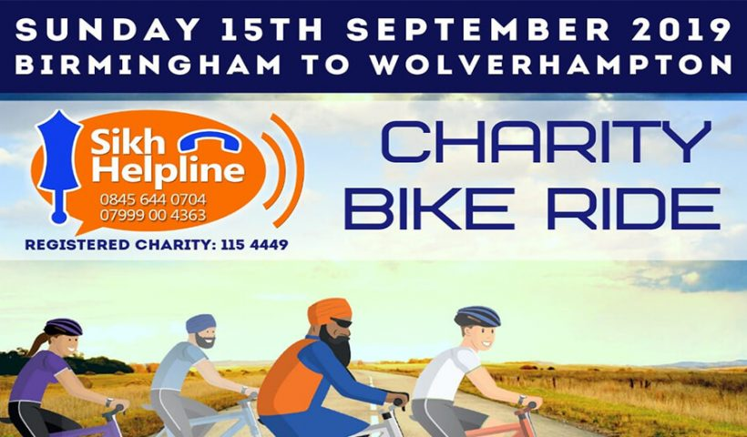 Charity Bike Ride 2019