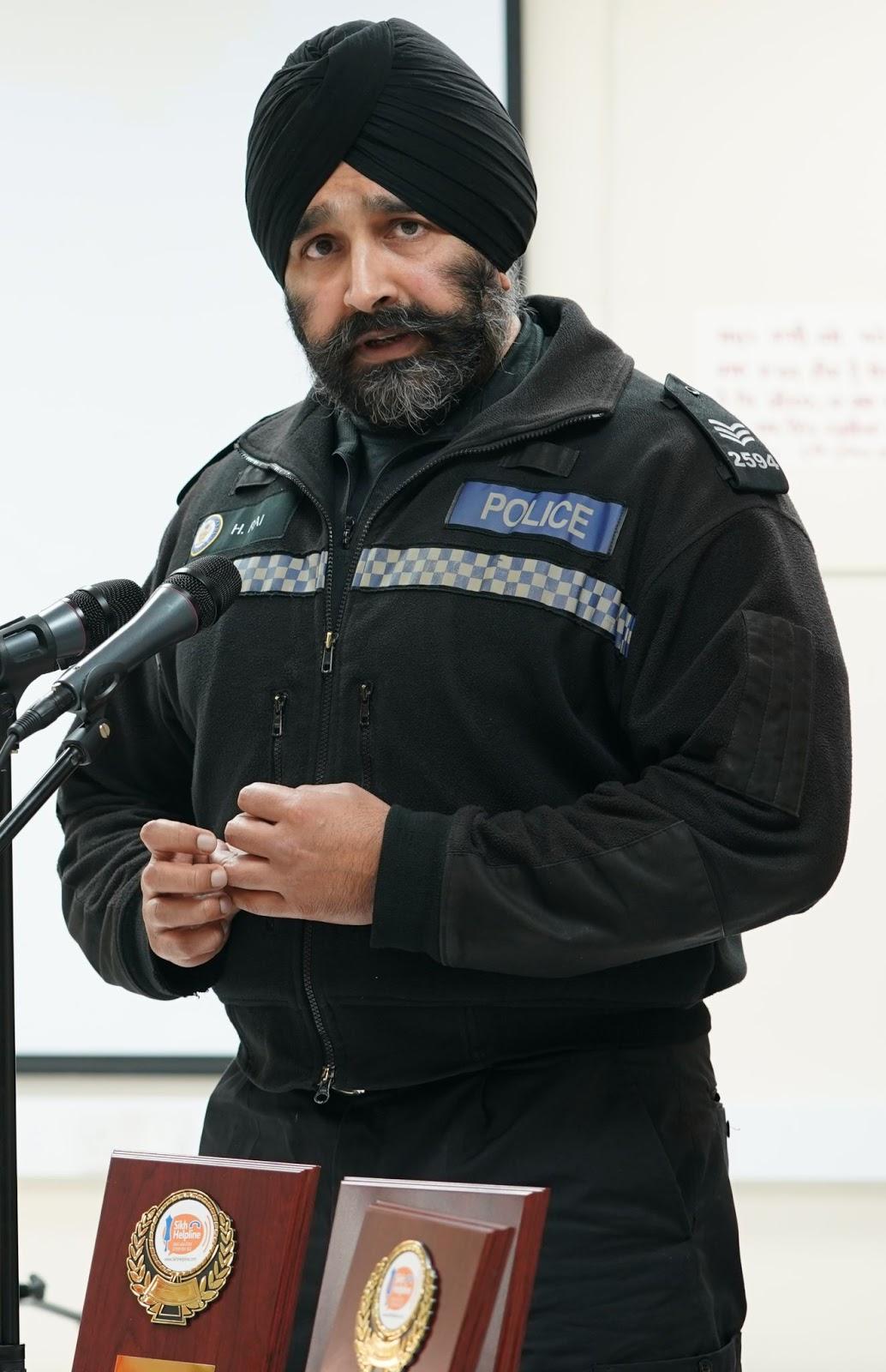 Harvinder Singh Press Release Portrait
